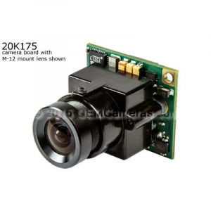 Videology 21K17X 1/4 in. color CCD sensor (PAL)