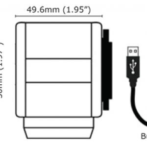 Videology 20K758USB-C High Resolution Color Box Camera