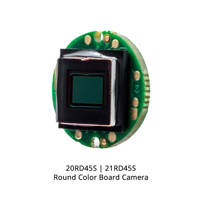 Videology 20RD45S Round Color Board Camera