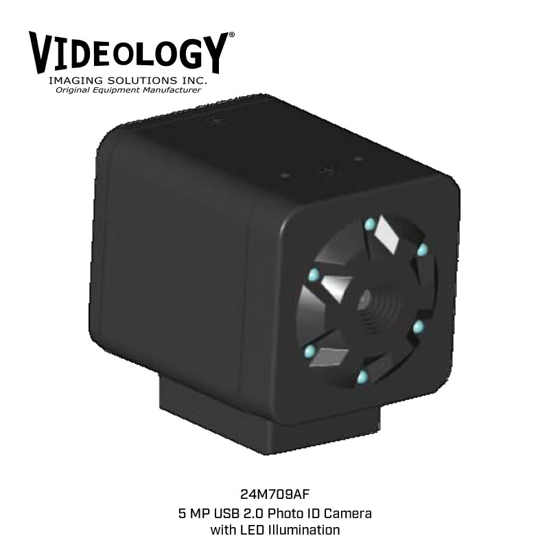 Videology 24M709AF Photo ID Camera with LED Illumination