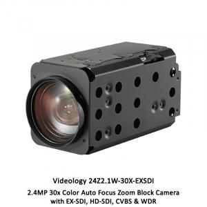 Videology 24Z2.1W-30X-EXSDI 2.4MP 30x AFZ Ultra Sensitive Block Camera
