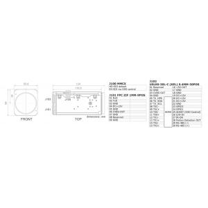 Videology 24Z2.1WS-30X-EXSDI 2.4MP 30x AFZ Ultra Sensitive Block Camera