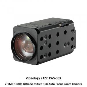 Videology 24Z2.1WS-36X 2.1MP 1080p Ultra Sensitive 36X Auto Focus Zoom Camera