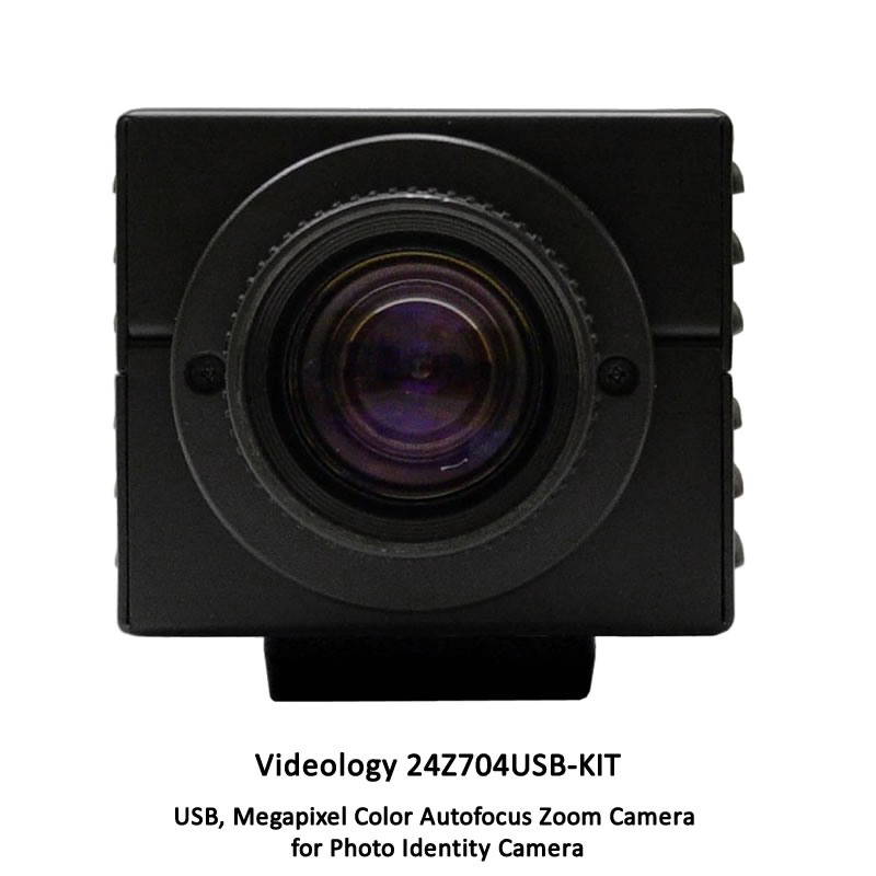 Videology 24Z704USB Badging Camera Kit
