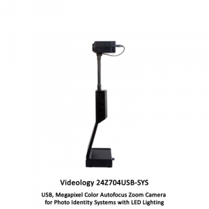 24Z704USB-SYS 2MP USB Autofocus Zoom Photo Identity System with LED Lighting