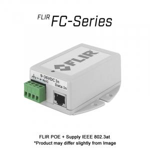 FLIR FC Series POE + Supply IEEE 802.3AT