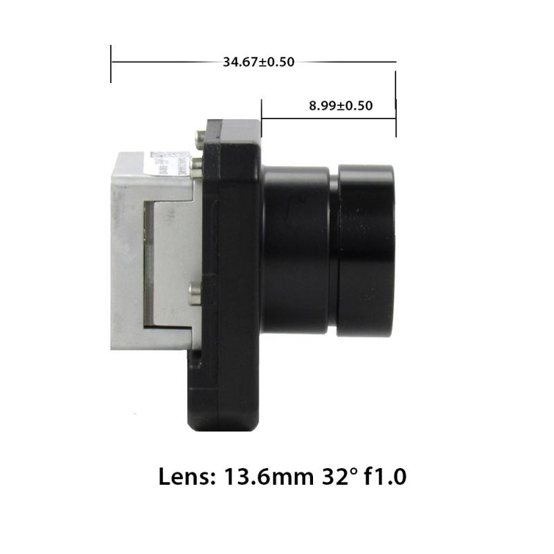 FLIR BOSON 640 x 512 13.6mm Short Lens 32° HFoV - LWIR Thermal Camera Core