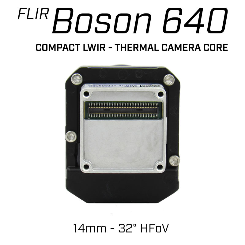FLIR BOSON 640 x 512 14mm 32° HFoV - LWIR Thermal Camera Core