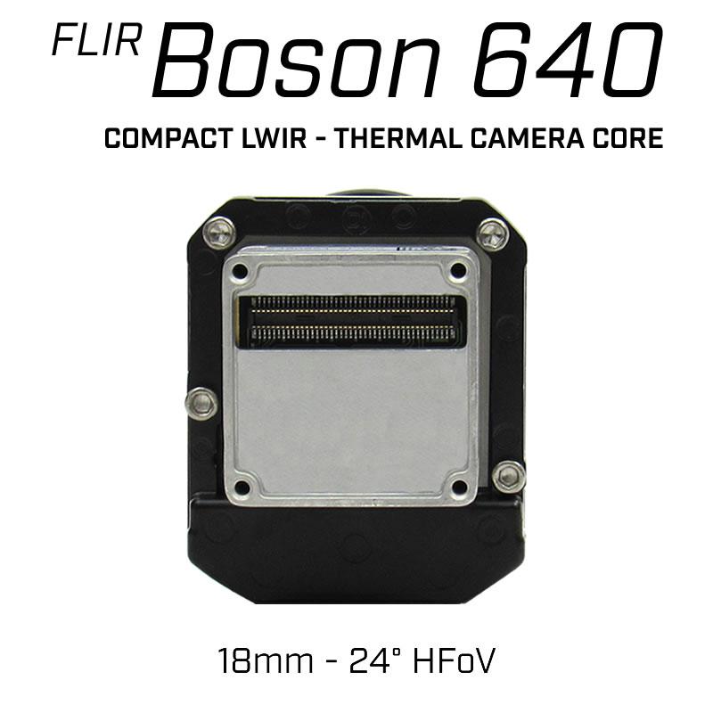 FLIR BOSON 640 x 512 18mm 24° HFoV - LWIR Radiometric Thermal Camera Core