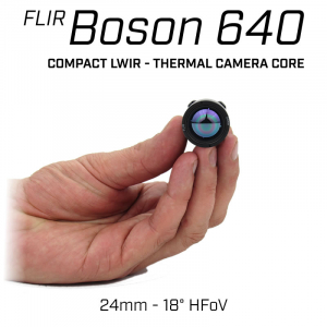 FLIR BOSON 640 x 512 24.4mm 18° HFoV - LWIR Thermal Camera Core