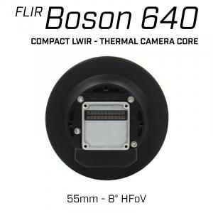 Teledyne FLIR BOSON 640 x 512 55mm 8° HFoV - LWIR Thermal Camera Core
