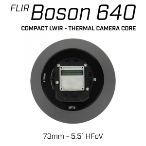 FLIR BOSON 640 73mm Lens Thermal Imaging Camera