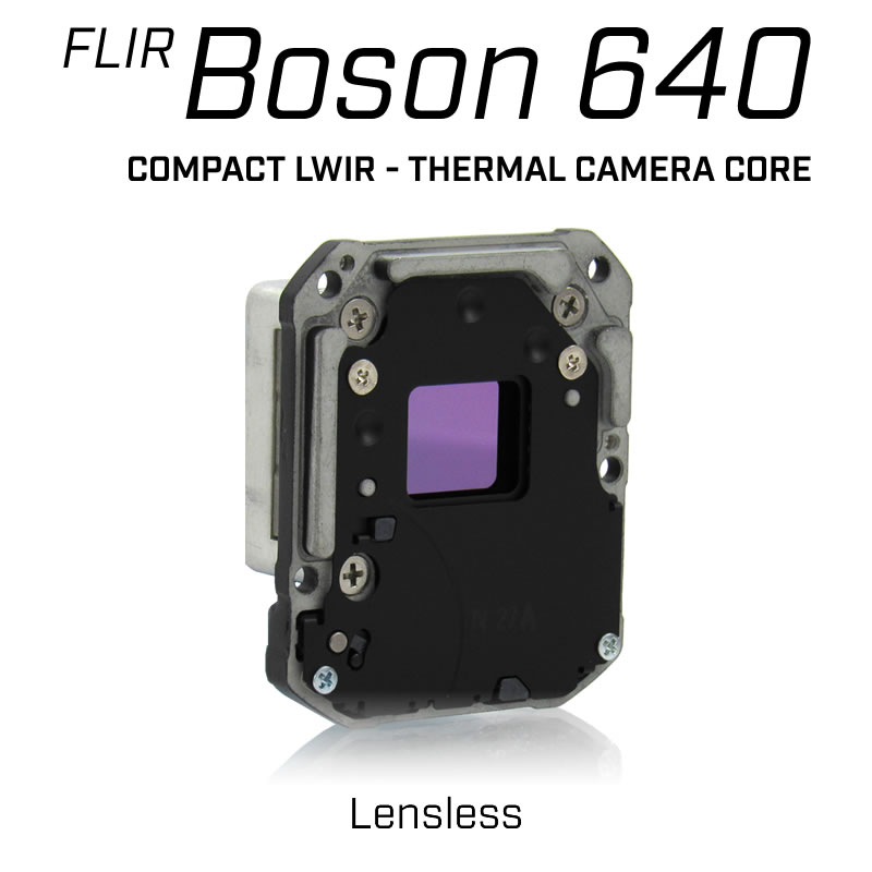 FLIR BOSON 640 x 512 Lensless - LWIR Thermal Camera Core