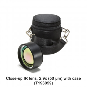 Close-up IR lens, 2.9x (50 µm) with case (T198059)