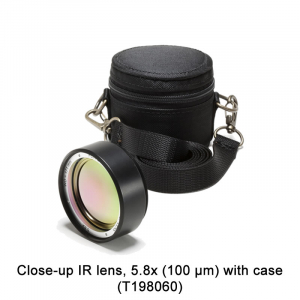 Close-up IR lens, 5.8x (100 µm) with case (T198060)