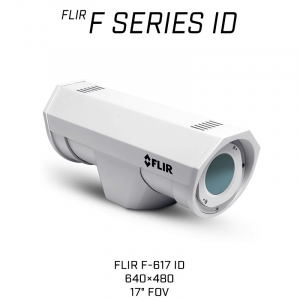 FLIR F-617 ID Thermal Security Camera with on-board analytics