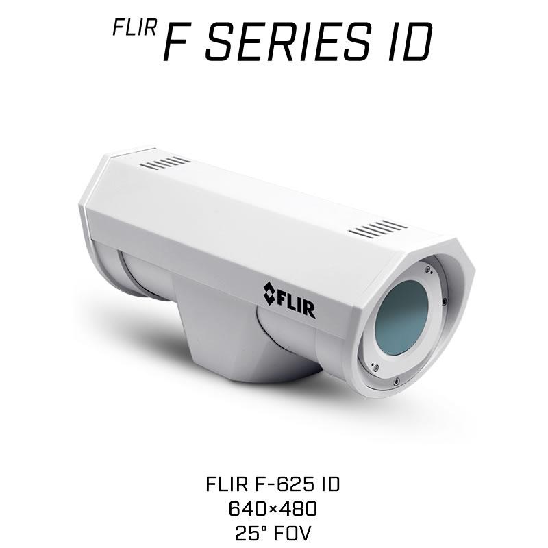 FLIR F-625 ID 640 x 480 25MM 25° HFOV - LWIR Thermal Analytics Security Camera