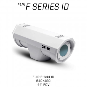 FLIR F-644 ID 640 x 480 13MM 44° HFOV - LWIR Thermal Analytics Security Camera