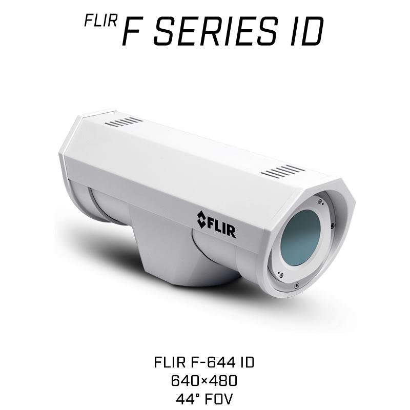 FLIR F-644 ID 640 x 480 13MM 44° HFOV - LWIR Thermal Analytics Security Camera