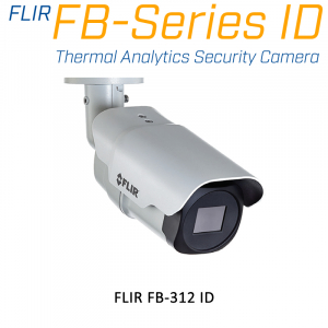 FLIR FB-312-ID THERMAL ANALYTICS SECURITY CAMERA