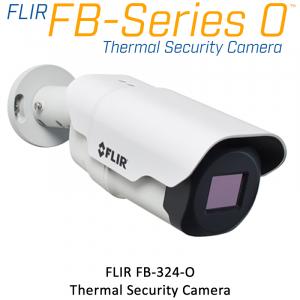 FLIR FB-324-O 320 x 240 12.8MM 24° HFOV - LWIR Thermal Security Camera