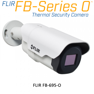 FLIR FB-695 O 640 x 480 4.9MM 95° HFOV - LWIR Thermal Security Camera