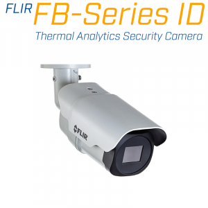 FLIR FB-695 ID 640 x 480 4.9MM 95° HFOV - LWIR Thermal Analytics Security Camera