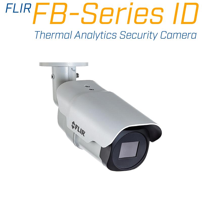 FLIR FB-695 ID 640 x 480 4.9MM 95° HFOV - LWIR Thermal Analytics Security Camera