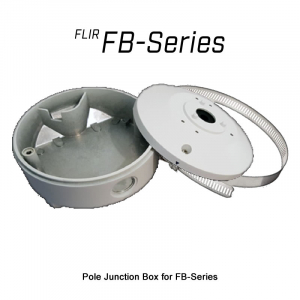 FLIR Pole Junction Box for FB-Series Thermal Cameras