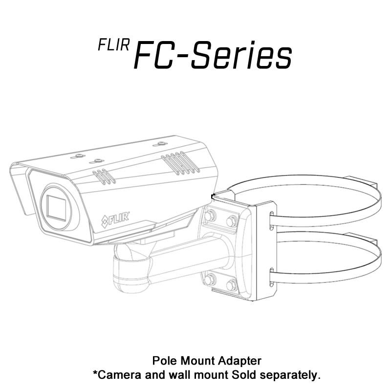 FLIR FC-610-O 640 x 480 60MM 10° HFOV - LWIR Thermal Security Camera