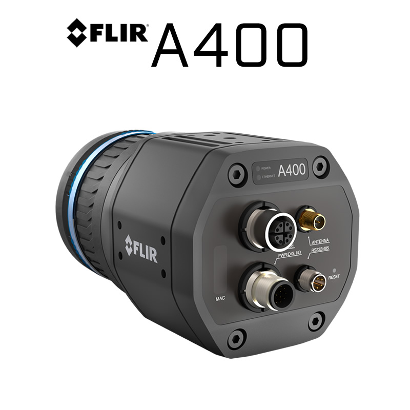 FLIR A400 320 × 240 14°, 24°, 42° HFoV - LWIR Thermal Smart Sensor (Standard)