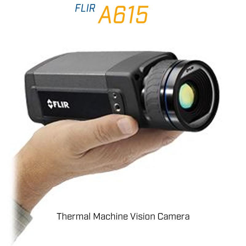FLIR A615 24.6 mm Lens 25° FoV Thermal Machine Vision Camera