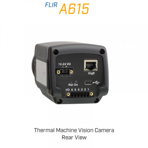 FLIR A615 6.5mm Lens 80° FoV Thermal Machine Vision Camera