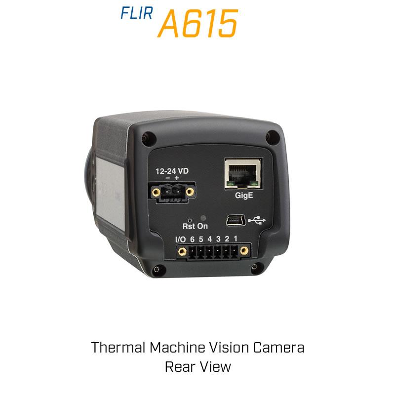 FLIR A615 6.5mm Lens 80° FoV Thermal Machine Vision Camera