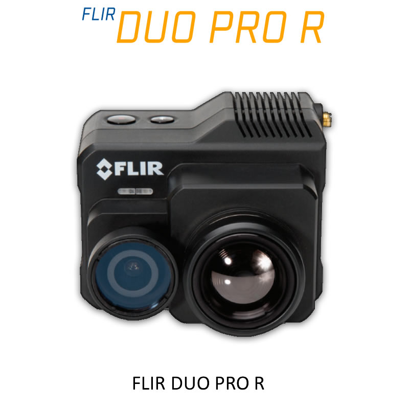 FLIR DUO PRO R 640 x 512 19mm 32°HFoV - LWIR HD DUAL-SENSOR THERMAL CAMERA