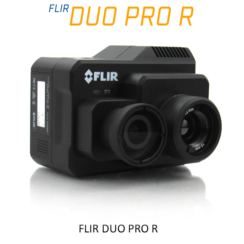 FLIR DUO PRO R 640 x 512 13mm 45°HFoV - LWIR HD DUAL-SENSOR THERMAL CAMERA