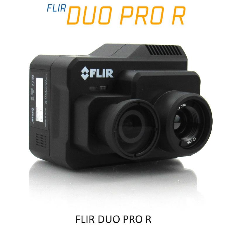 FLIR DUO PRO R 336 x 256 19mm 17°HFoV - LWIR HD DUAL-SENSOR THERMAL CAMERA