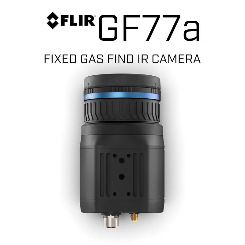 FLIR GF77a 320 x 240 18mm or 74mm 25°, 6° HFoV Fixed Gas Find IR Camera