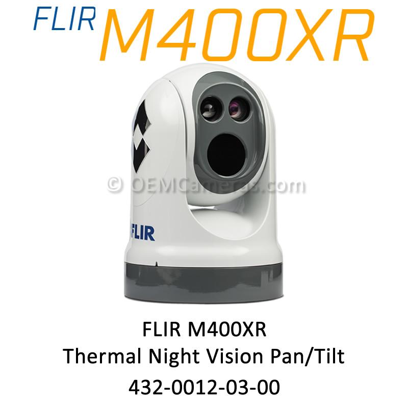 FLIR M400XR Thermal Night Vision Pan/Tilt Camera