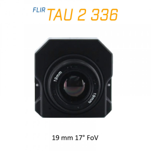 FLIR Tau 2 336 x 256 19mm 17°HFoV - LWIR Thermal Imaging Camera Core <9Hz