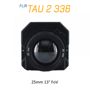 FLIR Tau 2 336 x 256 25mm 13°HFoV - LWIR Thermal Imaging Camera Core 30Hz