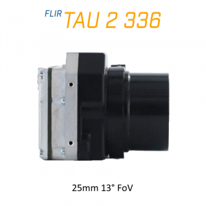 FLIR Tau 2 336 x 256 25mm 13°HFoV - LWIR Thermal Imaging Camera Core <9Hz