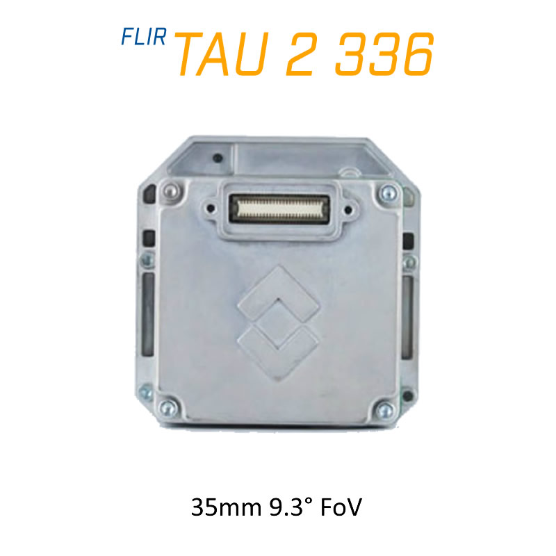 FLIR Tau 2 336 x 256 35mm 9.3°HFoV - LWIR Thermal Imaging Camera Core <9Hz