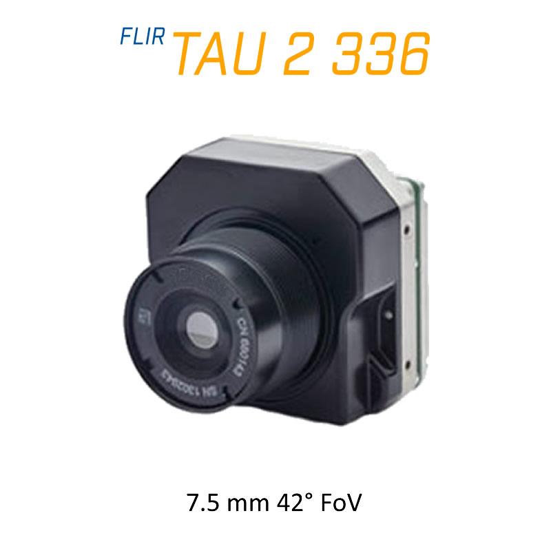 FLIR Tau 2 336 x 256 7.5mm 42° LWIR Thermal Imaging Camera Core 30Hz