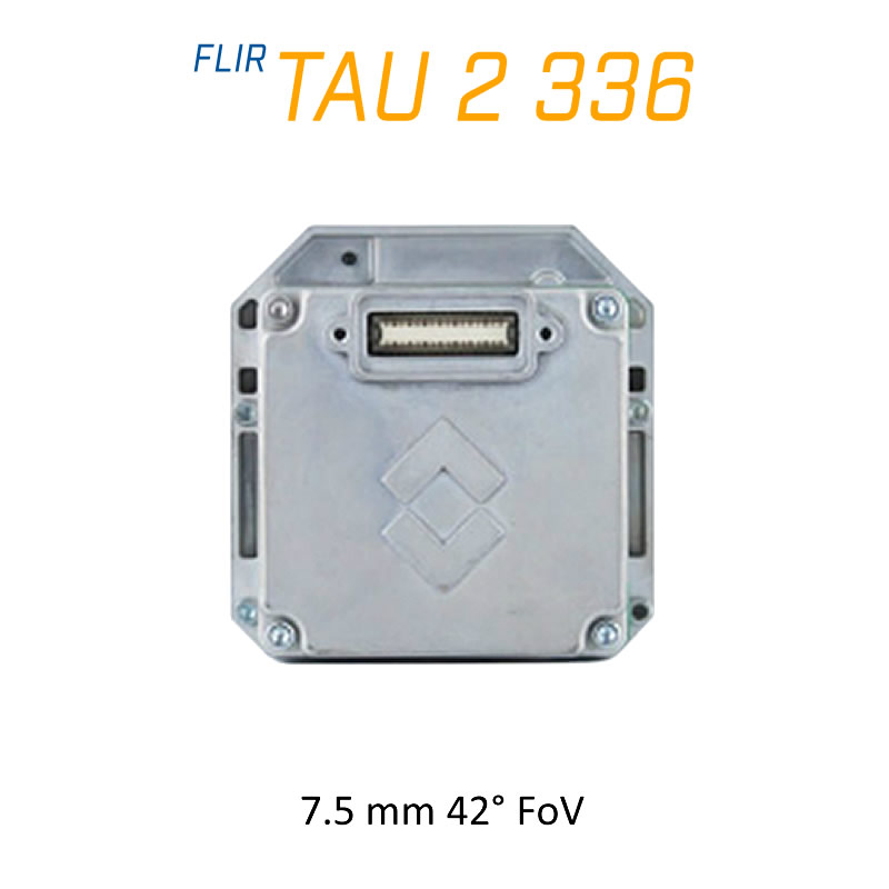 FLIR Tau 2 336 x 256 7.5mm 42° LWIR Thermal Imaging Camera Core <9Hz