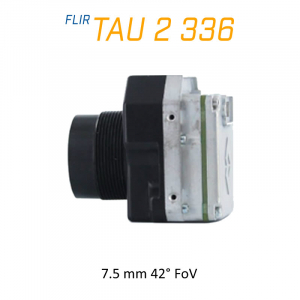 FLIR Tau 2 336 x 256 7.5mm 42° LWIR Thermal Imaging Camera Core 30Hz