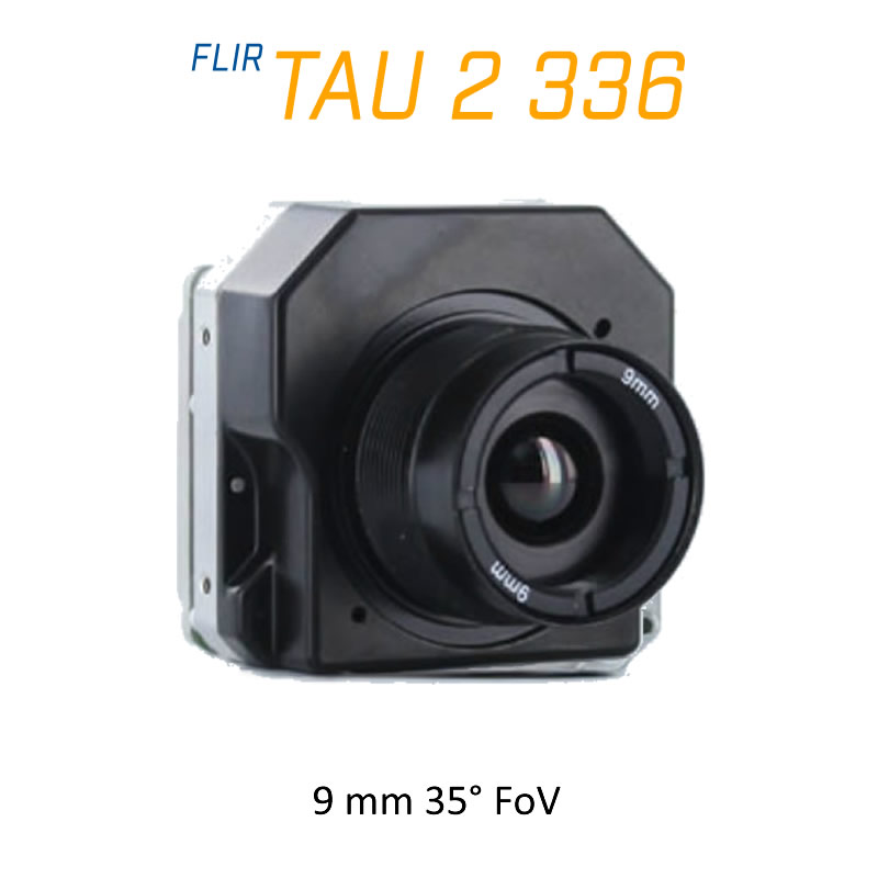 FLIR Tau 2 336 x 256 9mm 35° LWIR Thermal Imaging Camera Core 30Hz