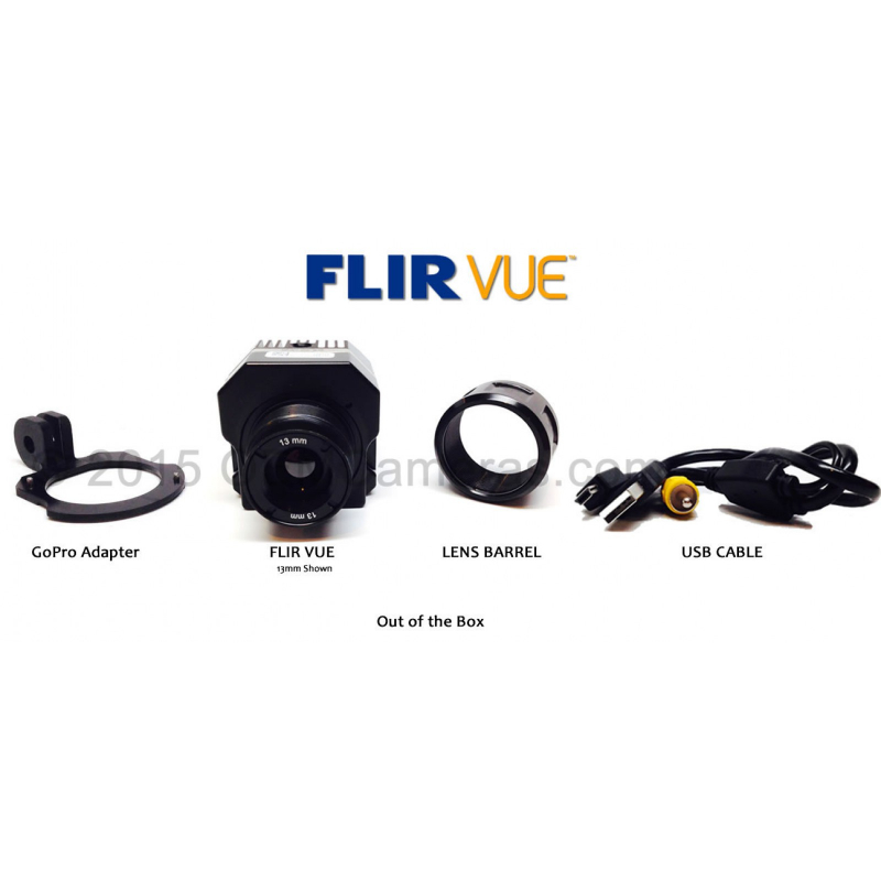 FLIR VUE 336 Thermal Imager 6.8mm Lens - 30/60Hz