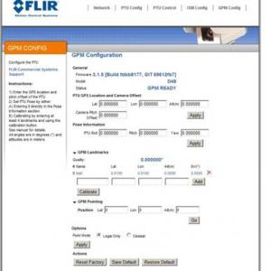 Teledyne FLIR D300-RF Pan-Tilt Antenna Positioner