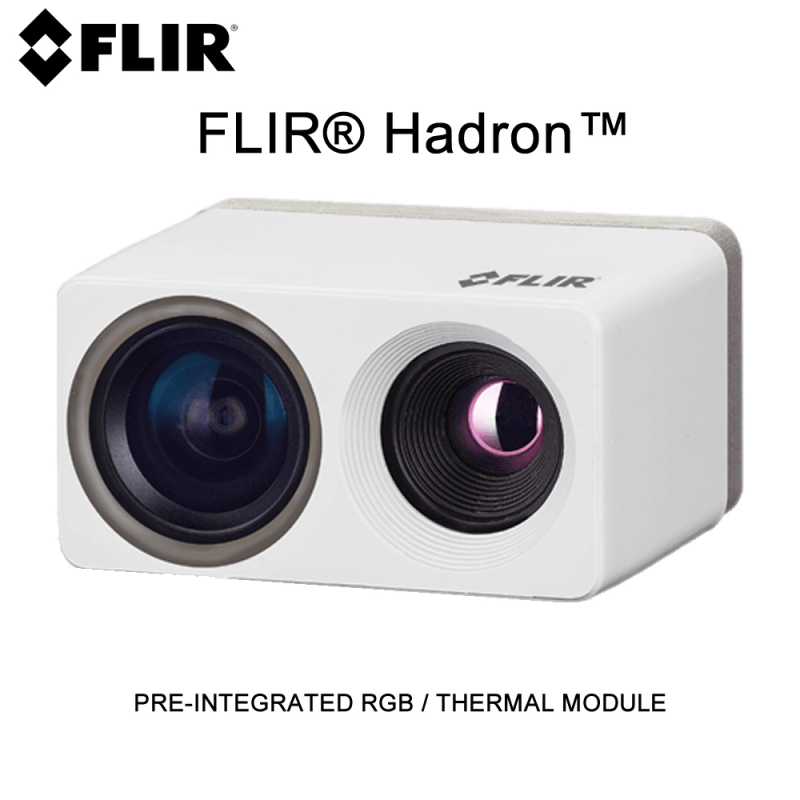 FLIR® Hadron™ PRE-INTEGRATED RGB / THERMAL MODULE